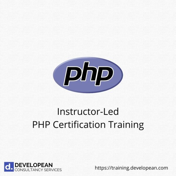 Instructor-Led PHP Certification Training