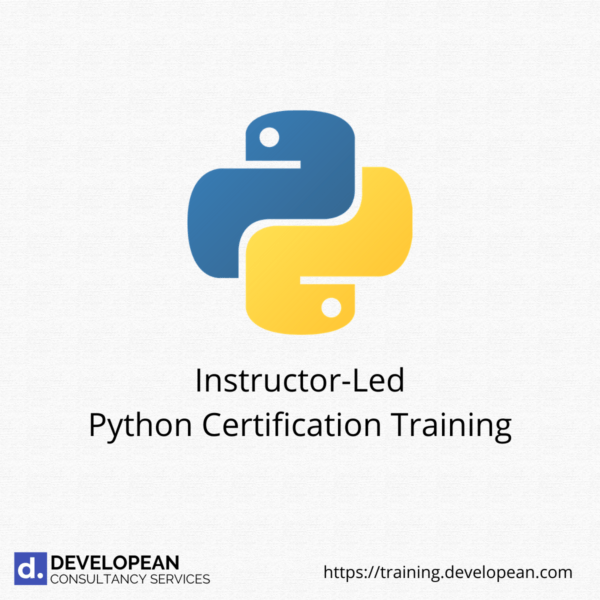 Instructor-Led Python Certification Training