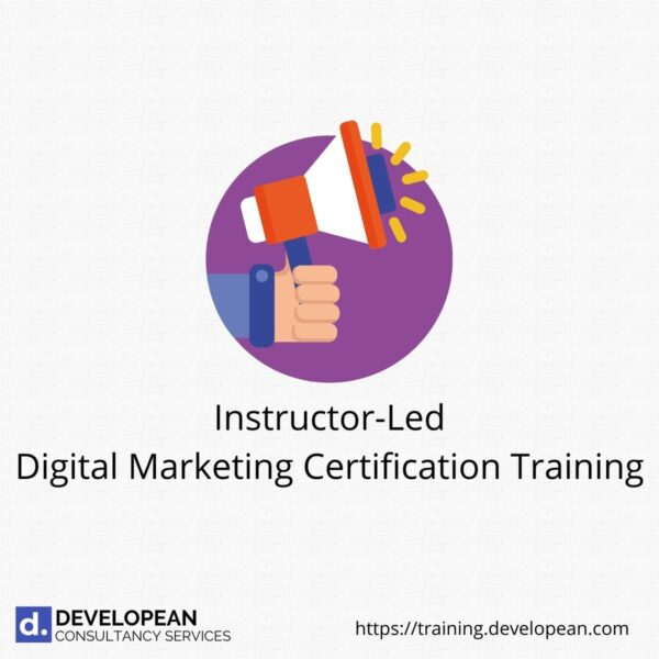 Instructor-Led Digital Marketing Certification Training