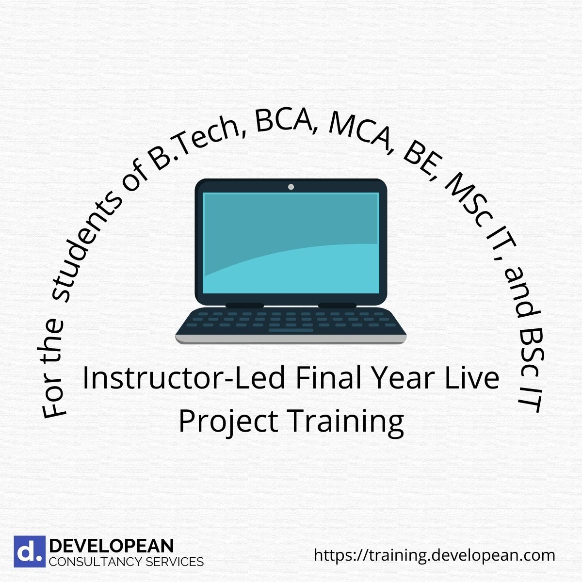 Instructor-Led Final Year Live Project Training