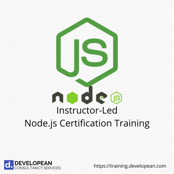 Instructor-Led Nodejs Certification Training